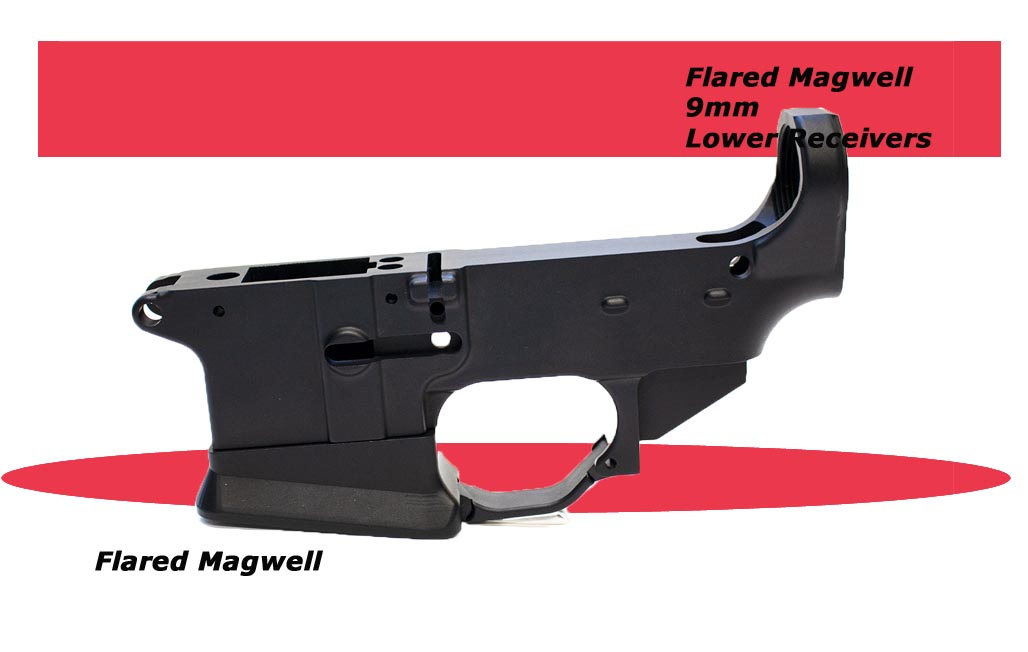 Check Out the 9mm Colt Lower Flared Mag Well